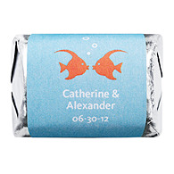 Personalized HERSHEY'S NUGGETS® Chocolates - Kissing Fish