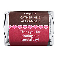 Personalized HERSHEY'S NUGGETS® Chocolates - Mini Hearts