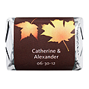 Personalized HERSHEY'S NUGGETS® Chocolates - Fall Leaves