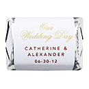 Personalized HERSHEY'S NUGGETS® Chocolates - Our Wedding Day (Gold)