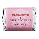 Personalized HERSHEY'S NUGGETS® Chocolates - Regal (Pink)