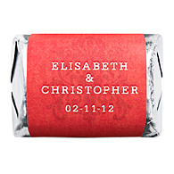 Personalized HERSHEY'S NUGGETS® Chocolates - Regal (Red)