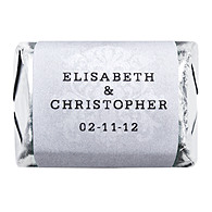 Personalized HERSHEY'S NUGGETS® Chocolates - Regal (Silver)