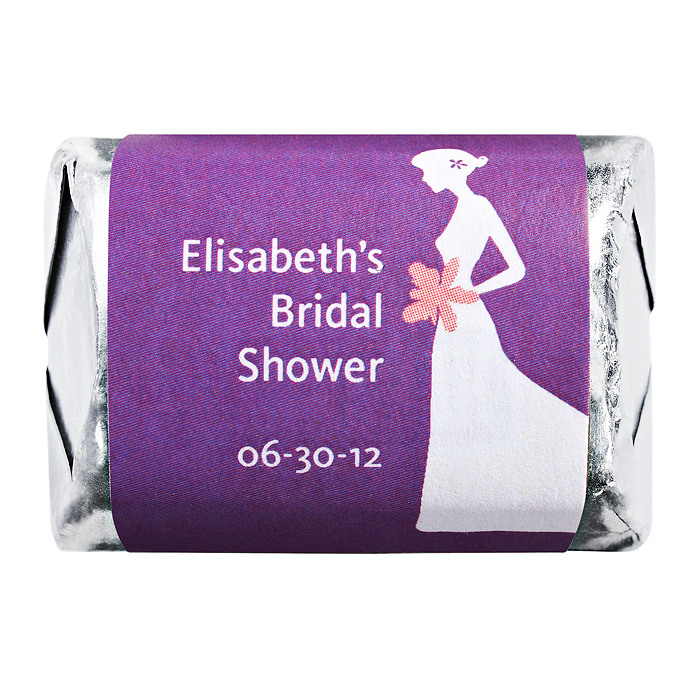 Personalized HERSHEY'S NUGGETS® Chocolates - Bride (Shower)