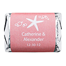 Personalized HERSHEY'S NUGGETS® Chocolates - Starfish (Pink)