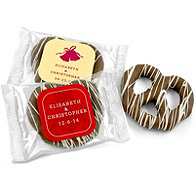 Personalized Chocolate Covered Pretzel Favor