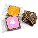 Personalized Chocolate Covered Graham Cracker Favor