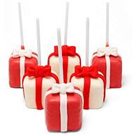 Present Cake Pop Favor