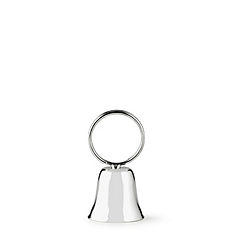 Silver-plated Bell Place Card Holder
