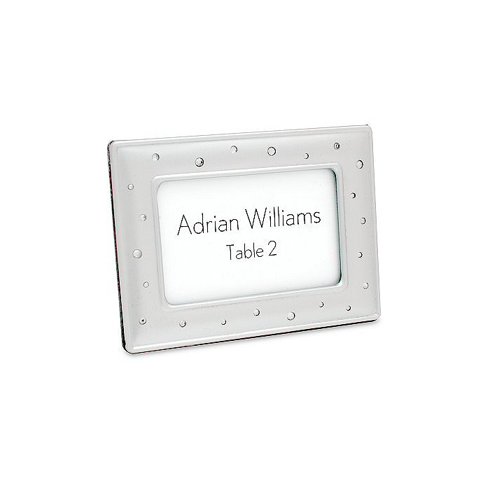 Sparkle Place Card Frame