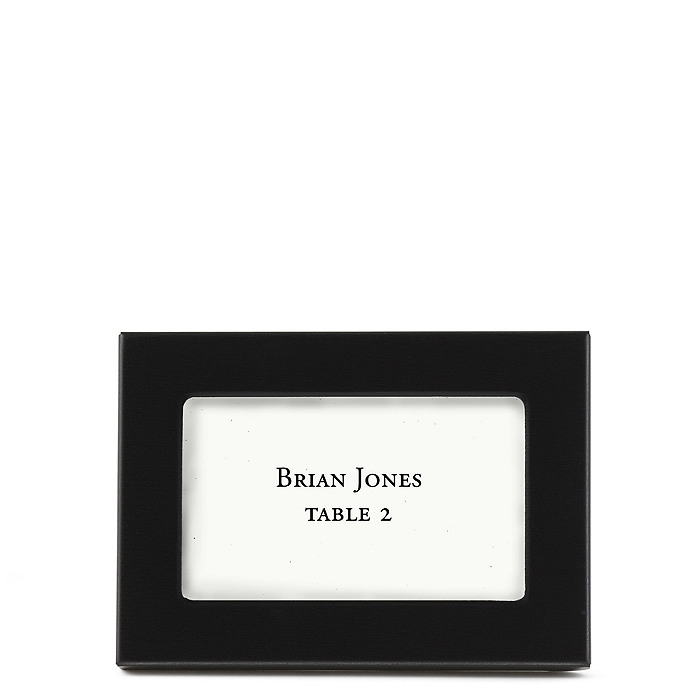 Classic Place Card Frame - Black