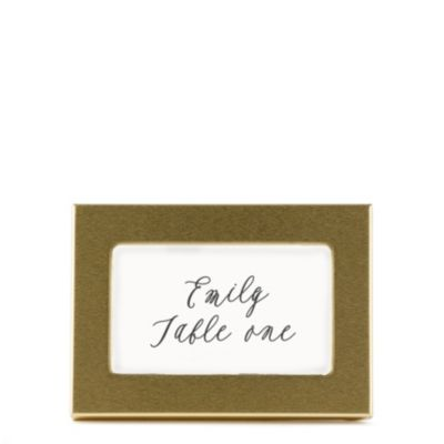 Classic Place Card Frame - Gold