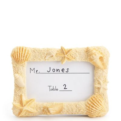 Shell Place Card Frame