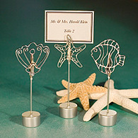 Beach-Themed Place Card Holders