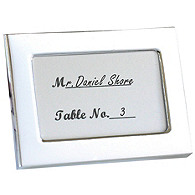 Silver Mini Place Card Frames
