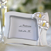 Swaying Calla Lily Place Card Frame