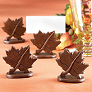Maple Leaf Place Card Holders