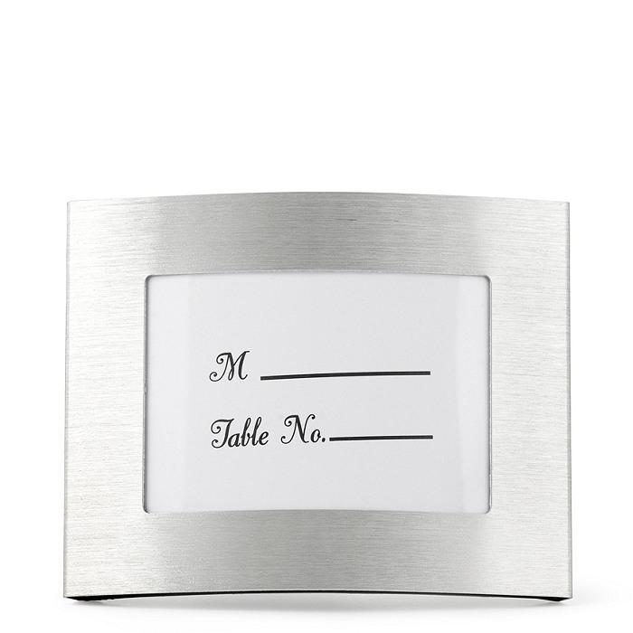 Elegant Curved Place Card Frame
