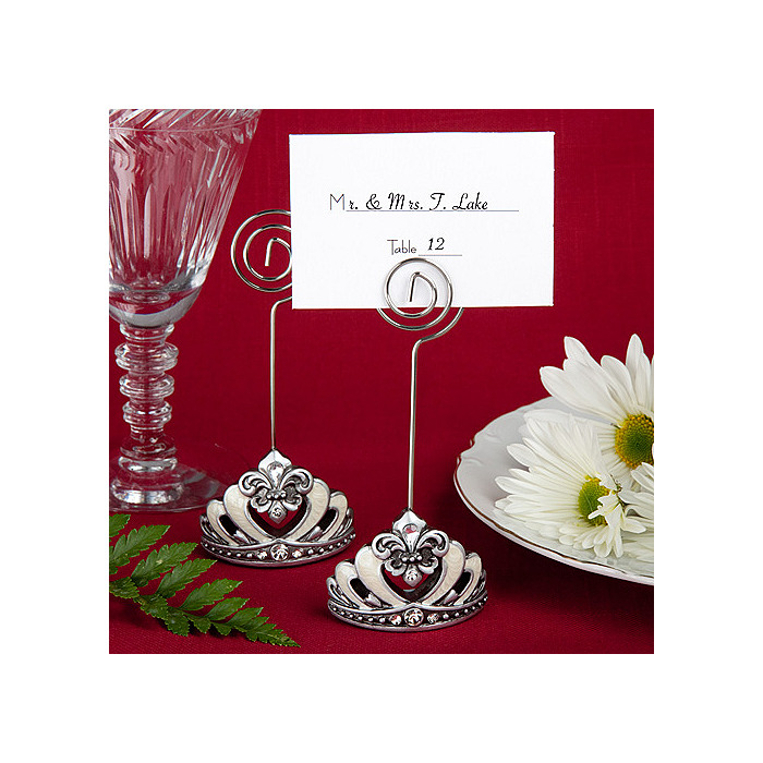 Crown Place Card Holders