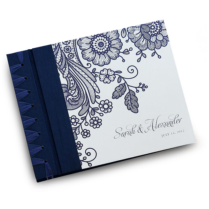 Prussian Lace Personalized Album
