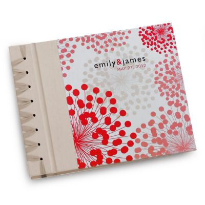 Coral Blooms Personalized Album
