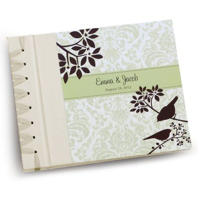 Aviary Damask Personalized Album