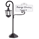 Street Lamp Place Card Holders