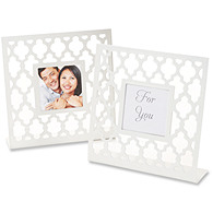 Geometric Lattice Place Card/Photo Frame