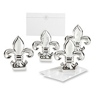 Fleur de Lis Place Card/Photo Holders