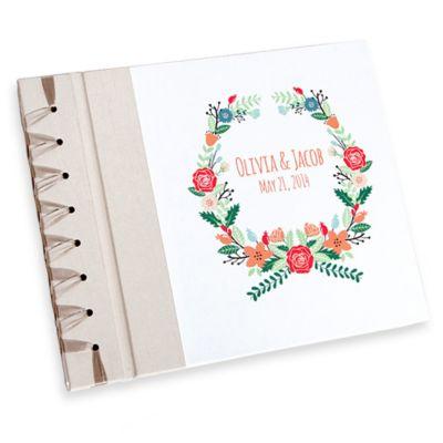 Floral Wreath Personalized Album
