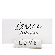 Birch Love Place Card Holders