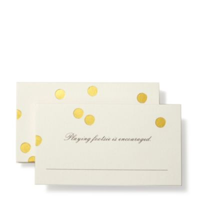 kate spade new york place cards