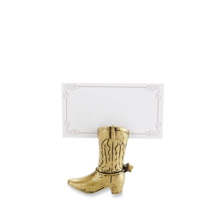 Cowboy Boot Place Card Holders