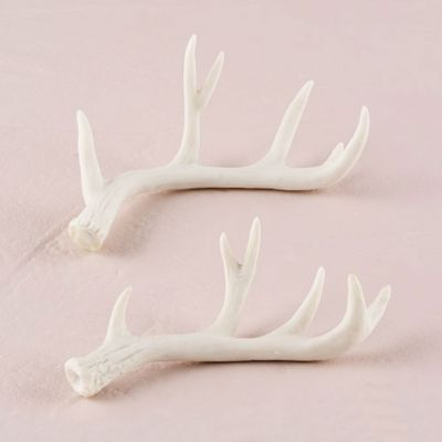 Faux Antler Place Card Holders