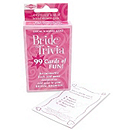 Bride Trivia Card Game