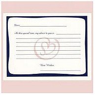 Notes of Advice for New Brides