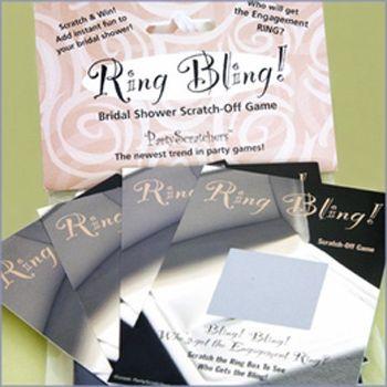 """Ring Bling"" Bridal Shower Game"