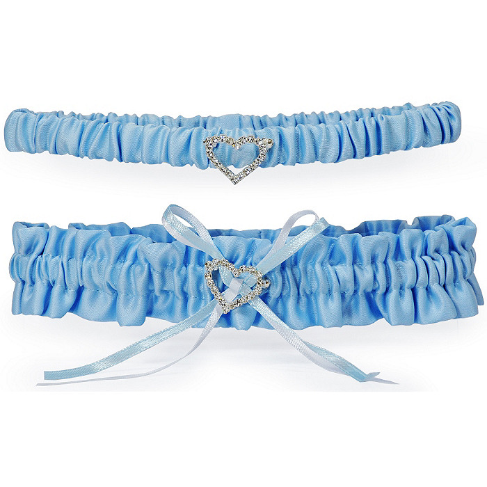 Blue Crush Garter & Tossing Garter