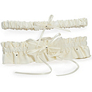 Candlelight Adjustable Wedding Garter