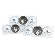 Men's Bridal Party Golf Ball Set