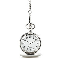 Silver-plated Pocket Watch
