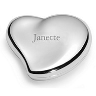 Free-Form Heart Jewelry Box