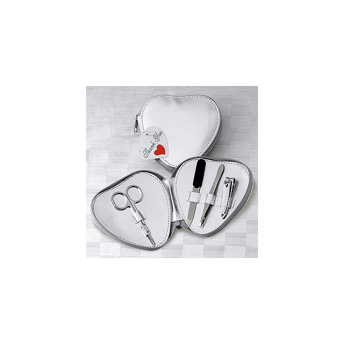Heart-shaped Manicure Set
