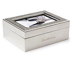 Glitter Photo Jewelry Box