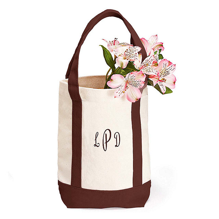 Small Personalized Canvas Tote