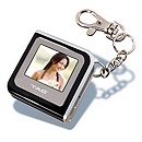 Digital Picture Keychain - Black