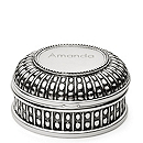 Beaded Antique Round Box