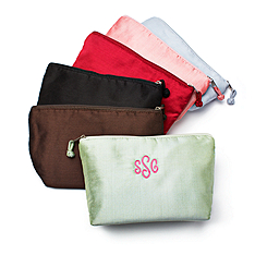 Ava Silk Cosmetic Bag