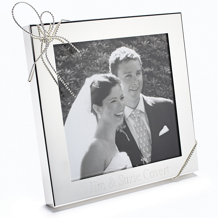 Vera Wang Love Knots 5x5 Wedding Frame