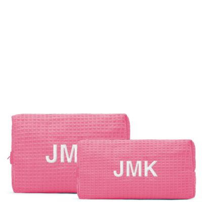 Personalized Cosmetic Bag Set